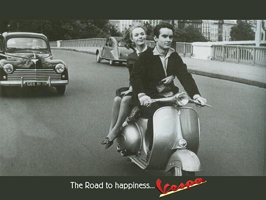 Vespa, una marca vintage