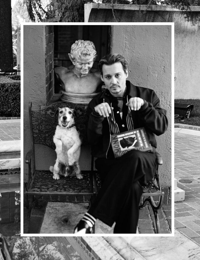 Johnny Depp x Bruce Weber para Interview, 2014