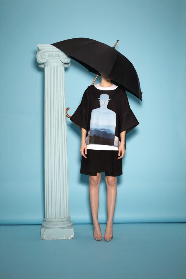 Arte y Moda: El pintor René Magritte según Opening Ceremony