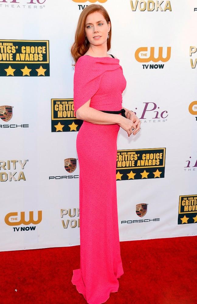 Amy Adams: siempre acertada en la alfombra roja