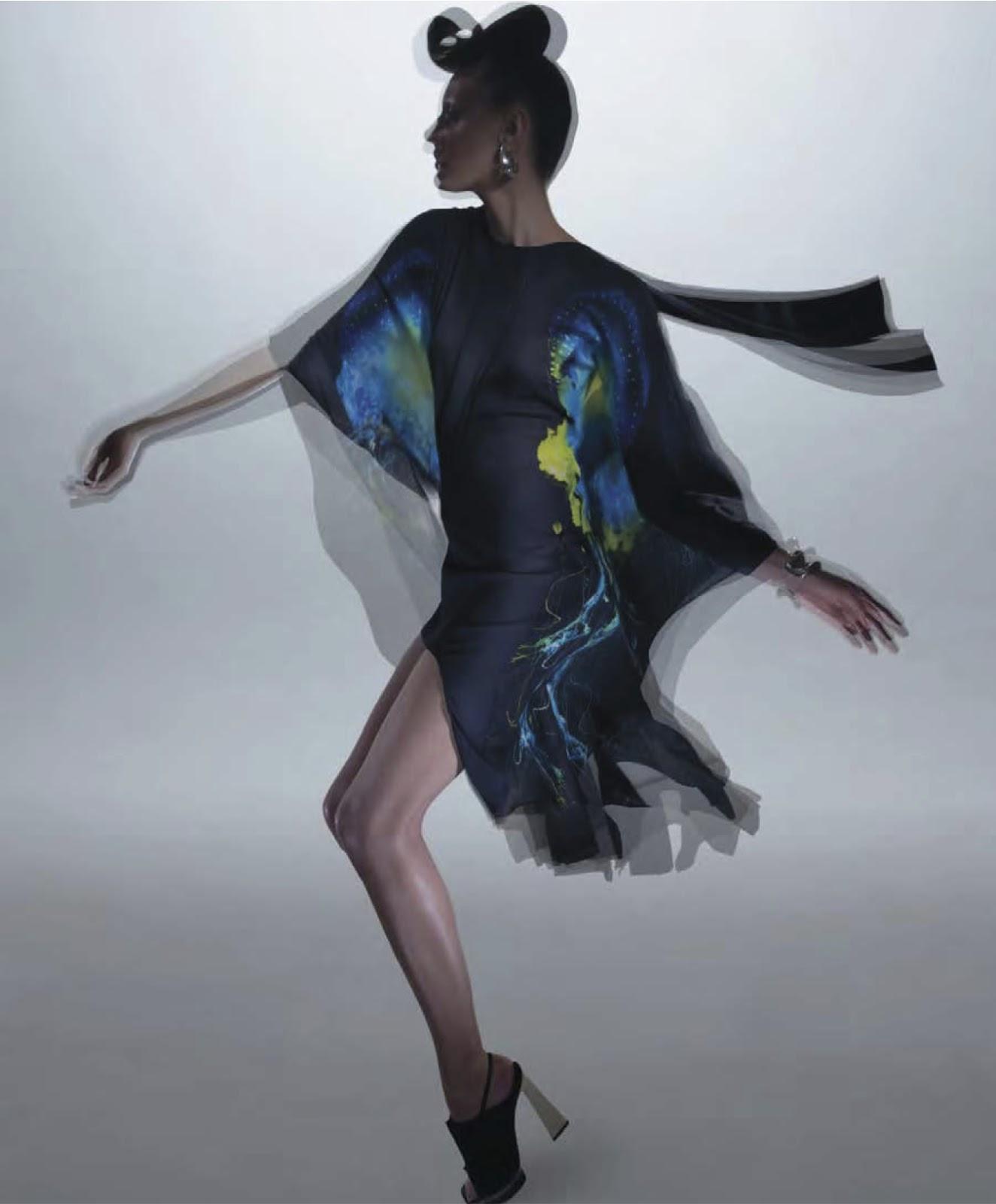 El regreso de Hiro a las editoriales de moda