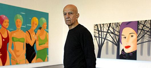 Alex Katz, el pintor de la élite neoyorkina