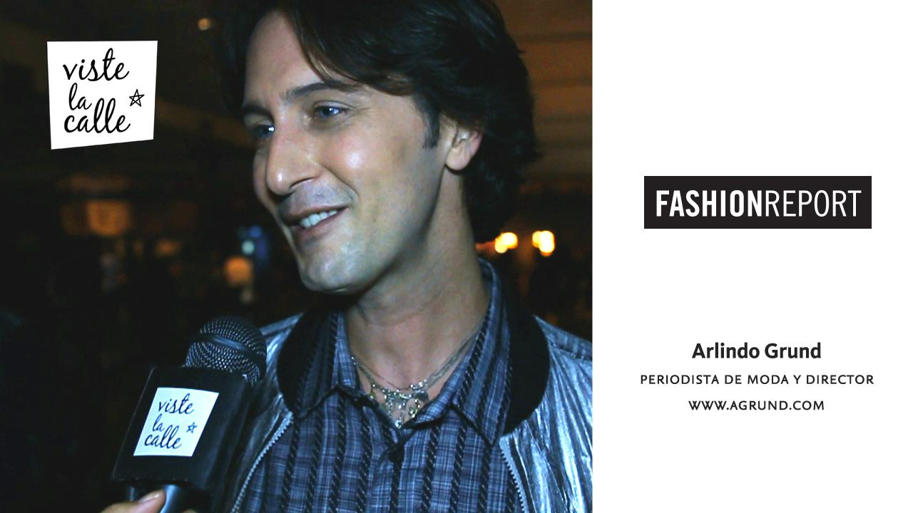 Fashion Report SPFW S/S 2015: Arlindo Grund