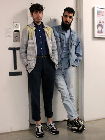 Brendo Garcia y Adriano Gonfiantini