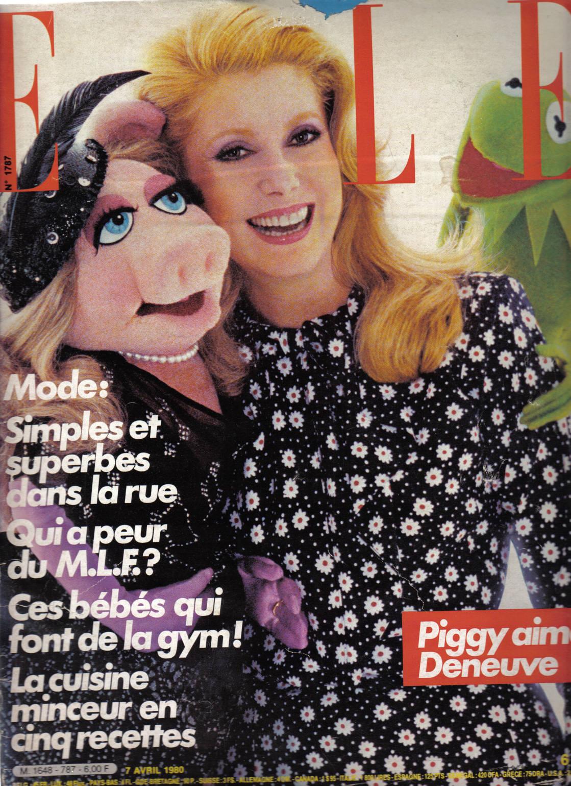 Flashback: Miss Piggy y sus portadas de revista