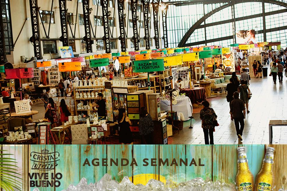 Agenda Cristal Light: Panoramas del 24 al 27 de abril