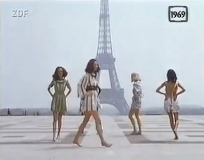 Flashback: La colección de Paco Rabanne en video, 1969