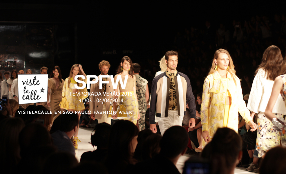 SPFW S/S 2015 por VisteLaCalle: Adriana Degreas y Colcci