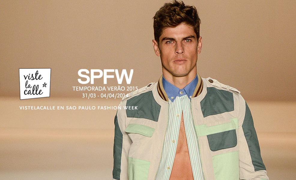 SPFW S/S 2015 por VisteLaCalle: Triton
