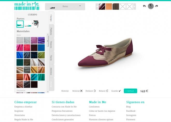 Made in Me: diseña los zapatos de tus sueños y recíbelos en la puerta de tu casa