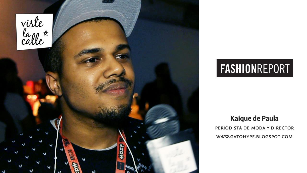 Fashion Report: Kaique de Paula en São Paulo Fashion Week S/S 2015