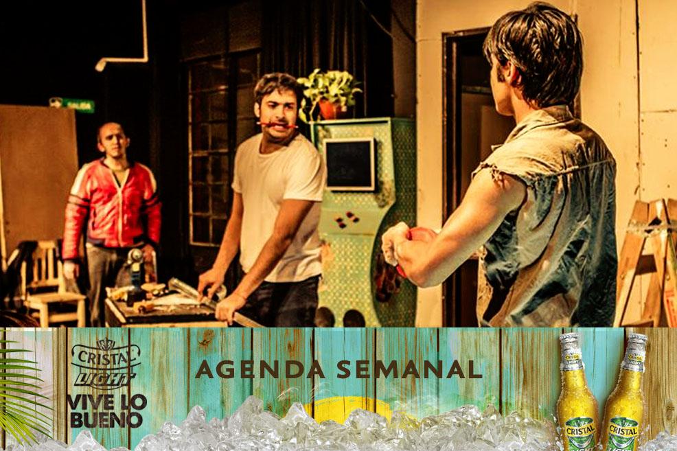 Agenda Cristal Light: Panoramas del 15 al 18 de mayo
