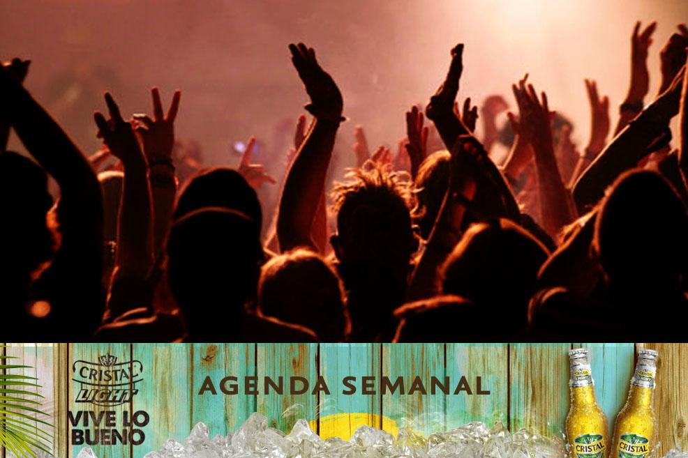 Agenda Cristal Light: Panoramas del 21 al 25 de mayo