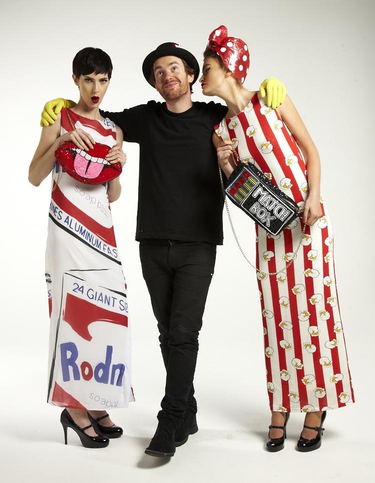 Ropa al servicio del arte pop: Rodnik Band