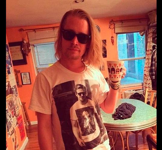 Inception-Shirts: el juego de estampados entre Macaulay Culkin y Ryan Gosling