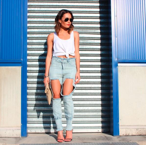 Ripped Jeans: la evolución de una tendencia clásica