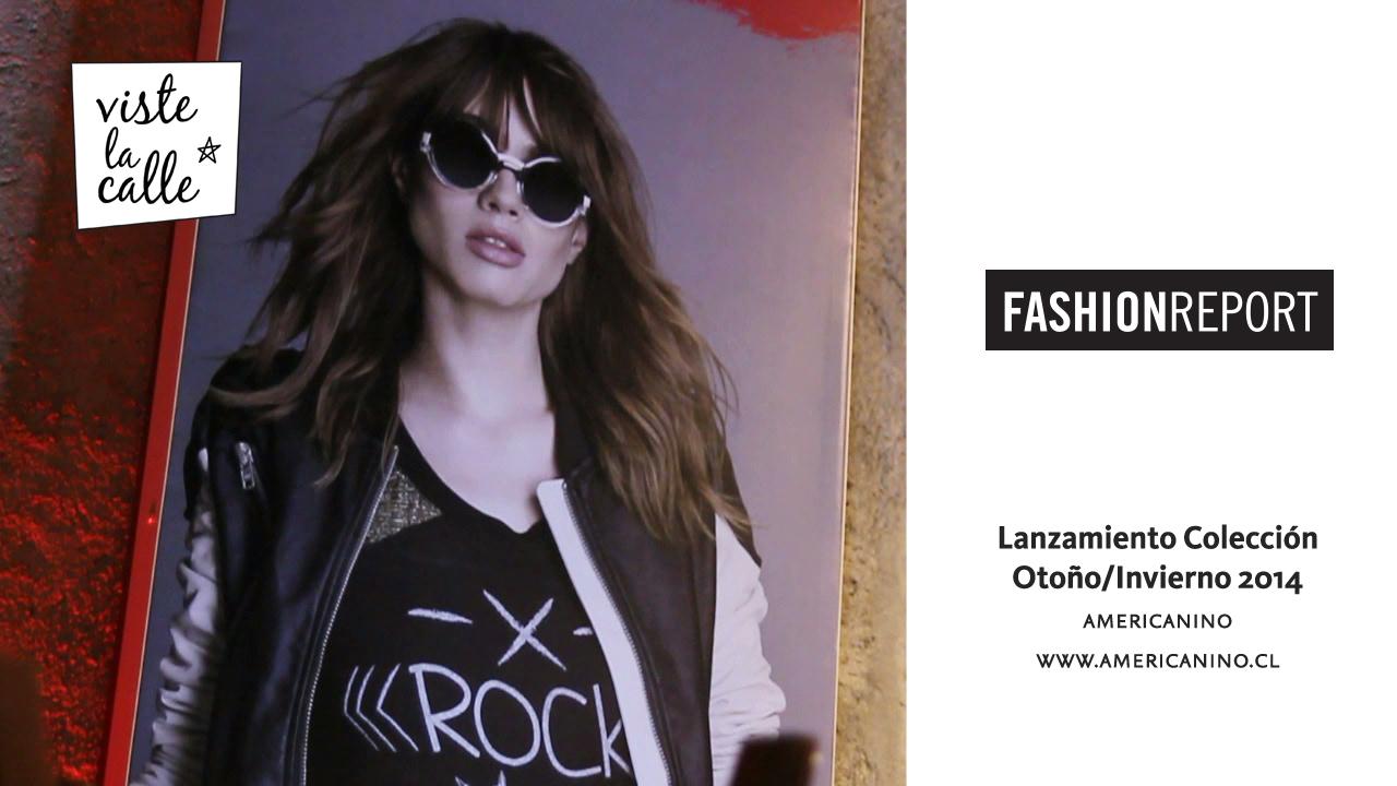 Fashion Report: Lanzamiento Colección Americanino Otoño/Invierno 2014