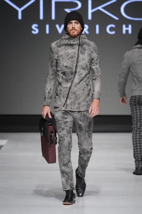 """Entrevista al diseñador Yirko Sivirich y su colección Sierra: """"En todo momento quise mostrar una reinvención del estilo del hombre andino"""""""
