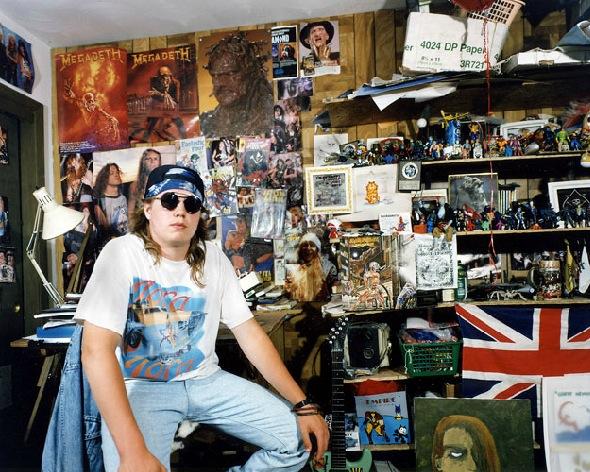 """""""In My Room: Teenagers in Their Bedrooms"""", una mirada gráfica al universo adolescente"""