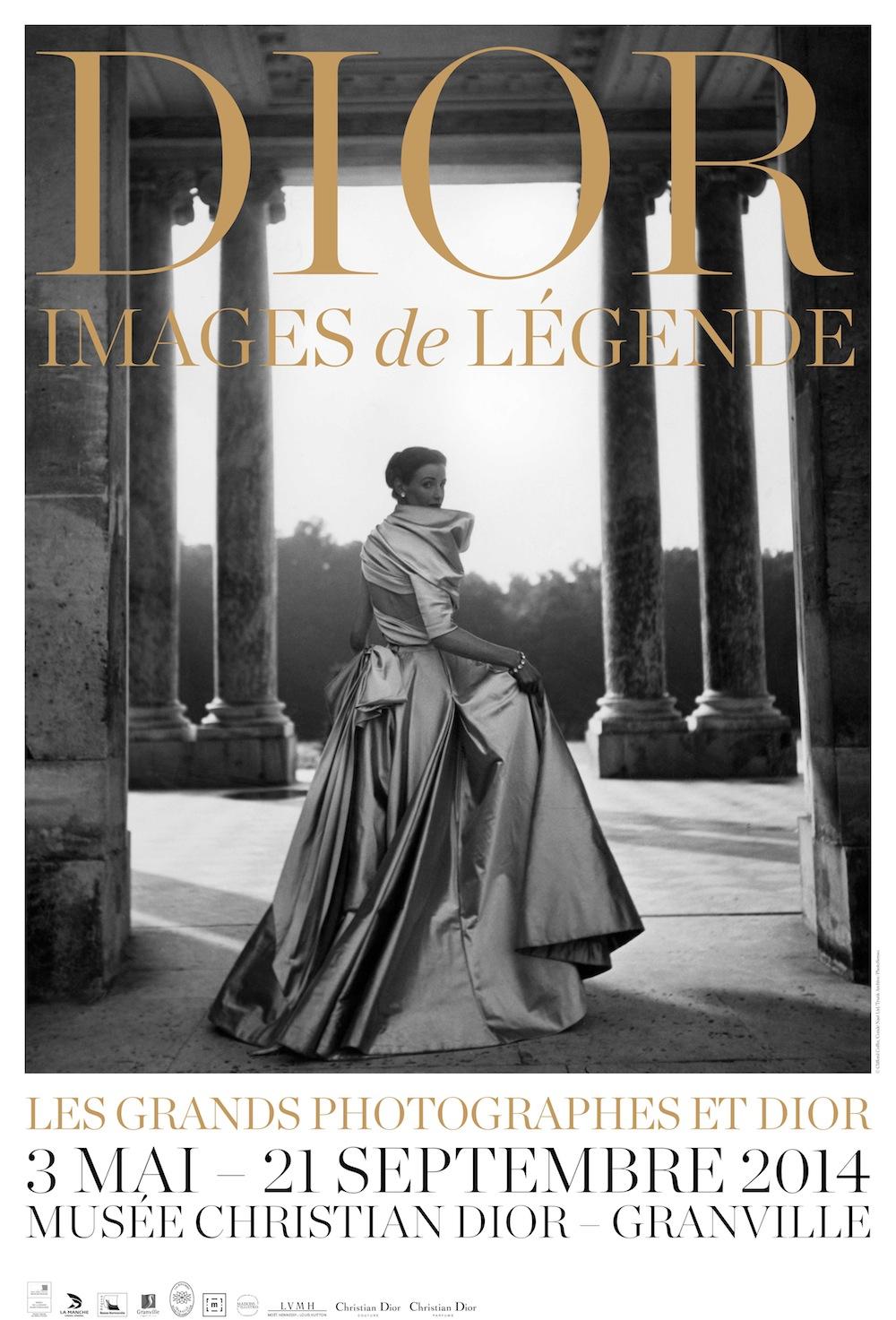 """""""Dior, images de légende"""", una exposición sobre el legado de Christian Dior"""