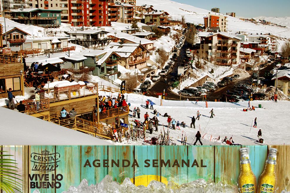 Agenda Cristal Light: Panoramas del 19 al 22 de junio