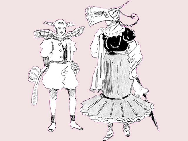 ¡Así se predecía qué vestiríamos en el futuro!