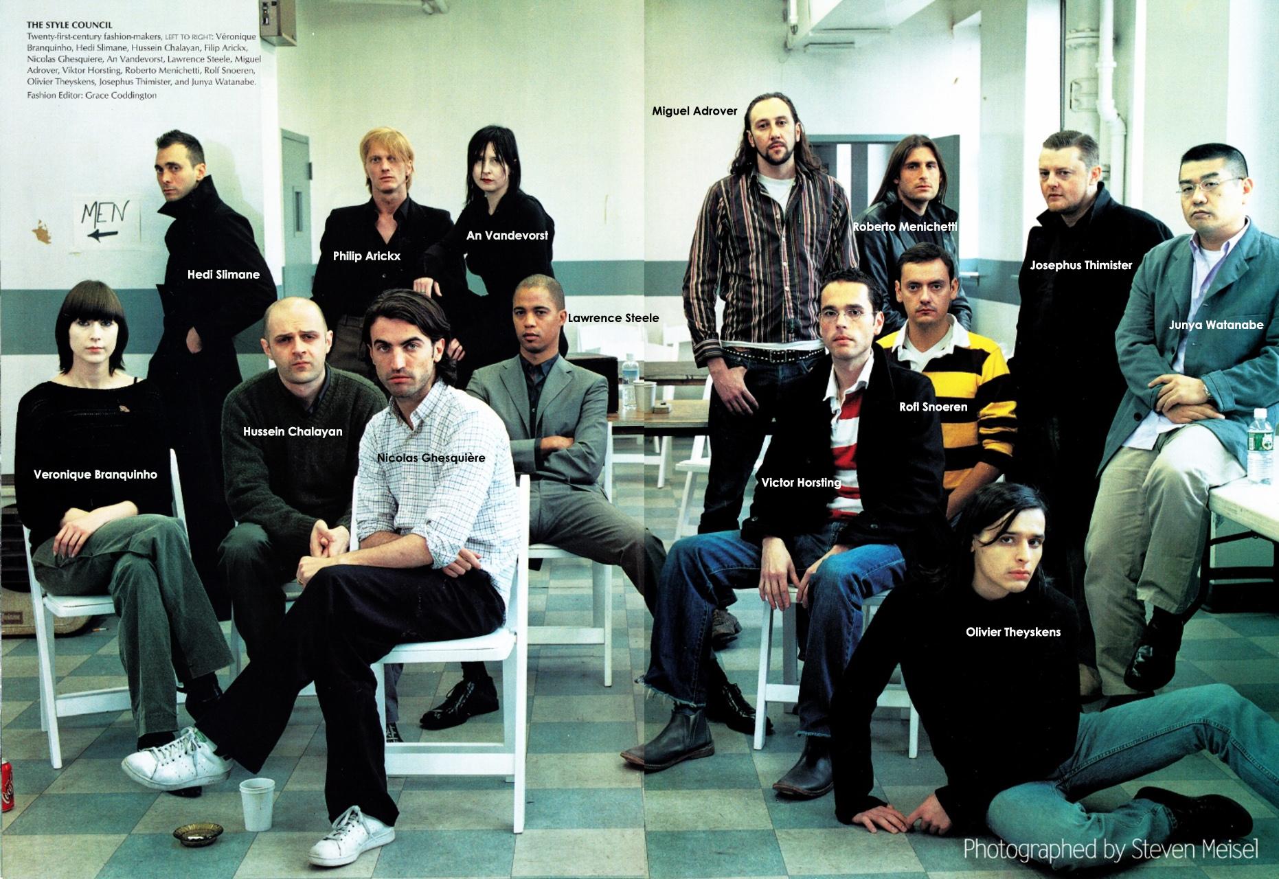 La nueva generación de diseñadores según Vogue, año 2000