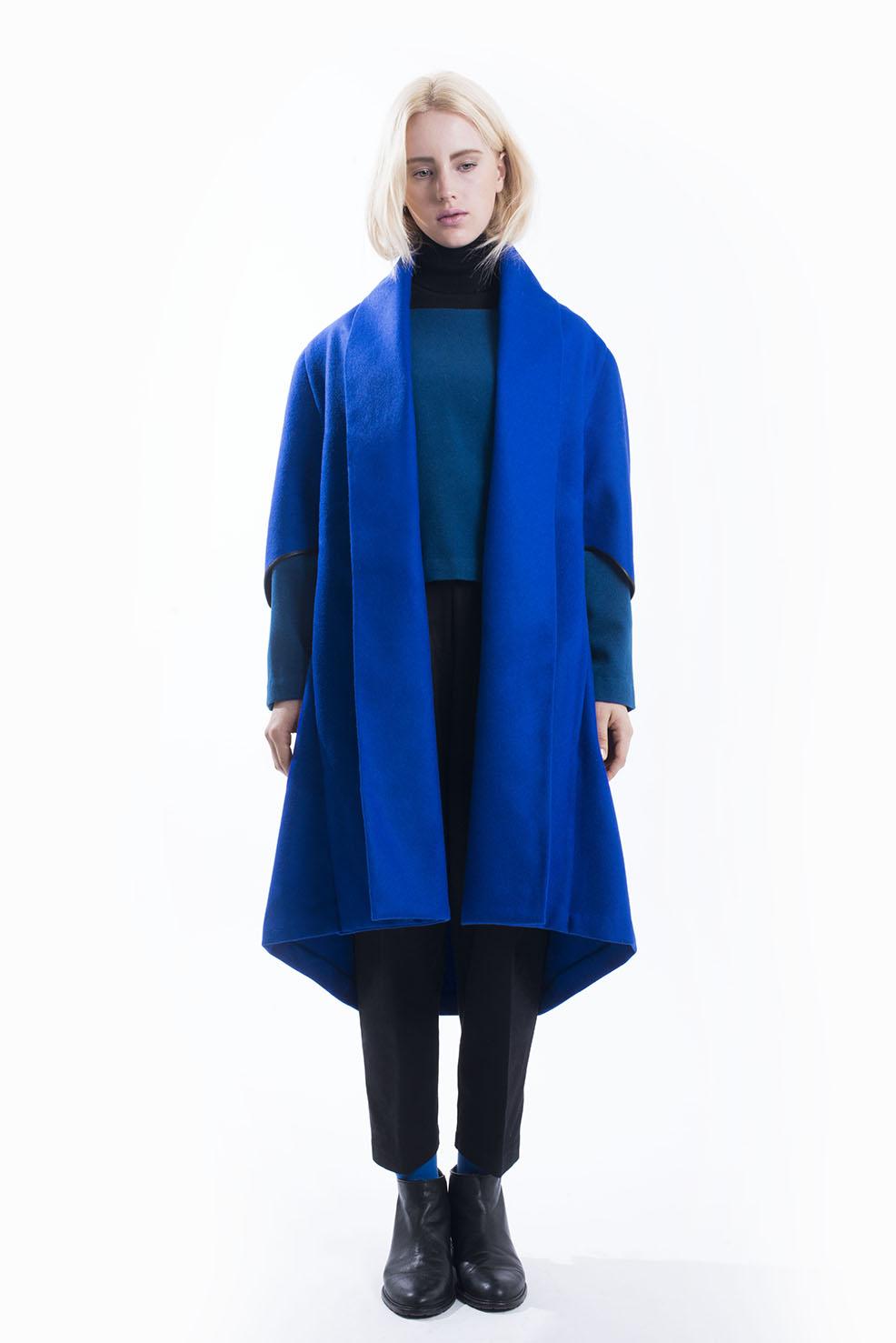 Abrigos y capas: La colección otoño/invierno 2014 de Vera Sielfeld