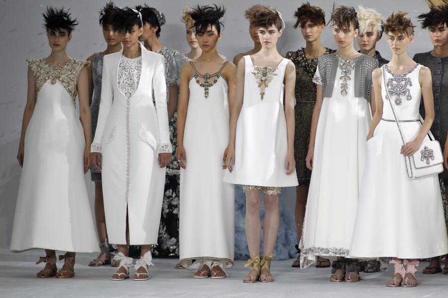 Haute Couture con cara de prêt-à-porter