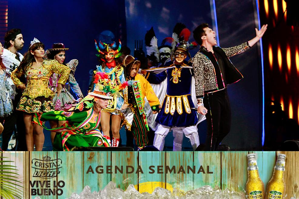 Agenda Cristal Light: Panoramas del 3 al 6 de julio + ¡concursos!