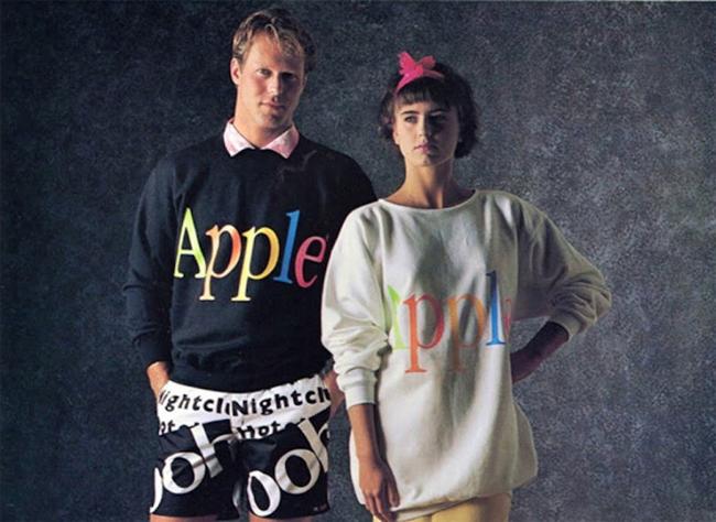 """""""The Apple Collection"""", la poco exitosa línea de ropa que Apple lanzó en 1986"""