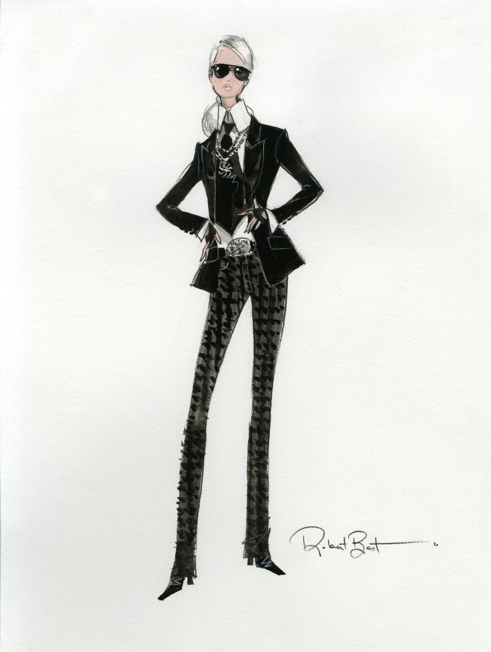 Barbie Lagerfeld: el más reciente modelo de la muñeca inspirado en Karl Lagerfeld