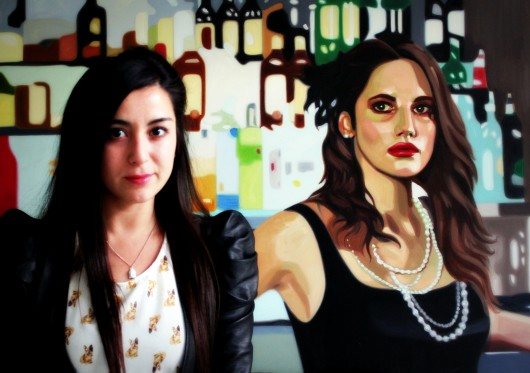 Constanza Ragal, la artista chilena que lleva el imaginario de la moda a la pintura