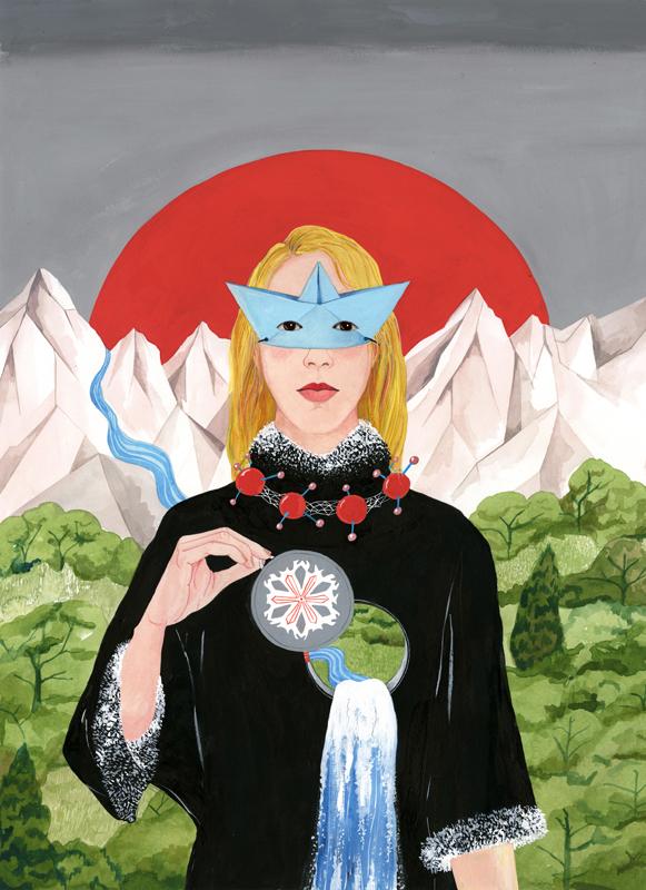 Ilustradora destacada RevisteLaCalle 7: Luisa Rivera