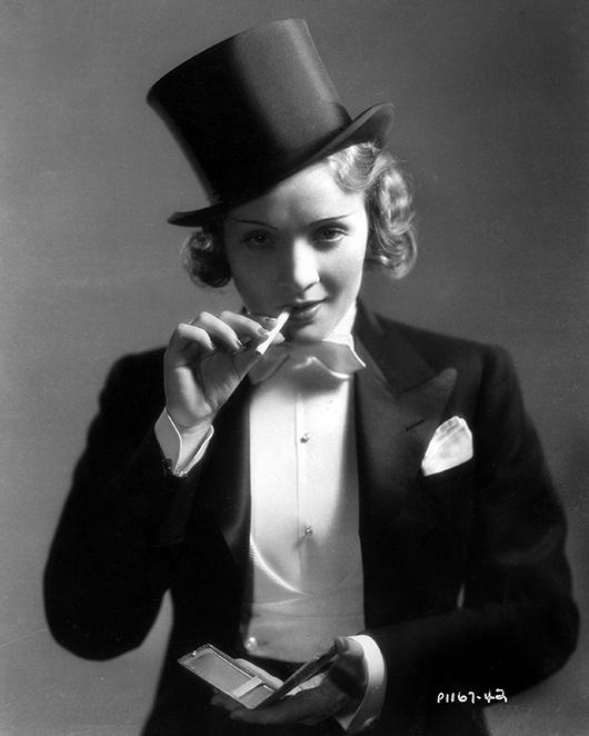 El estilo andrógino de Marlene Dietrich