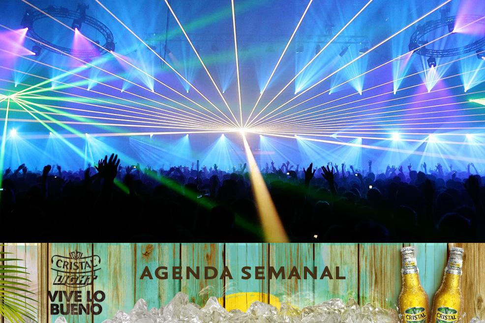Agenda Cristal Light: Panoramas del 10 al 13 de julio + ¡concurso!