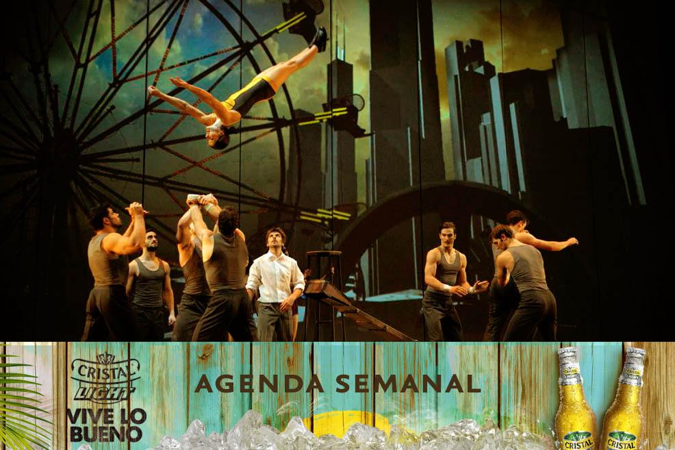 Agenda Cristal Light: Panoramas del 17 al 20 de julio