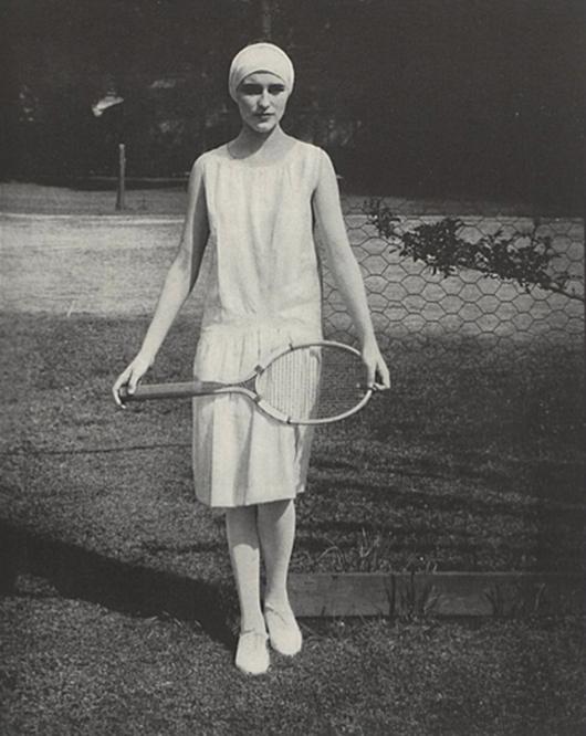 Retro Womens Tennis Clothes
