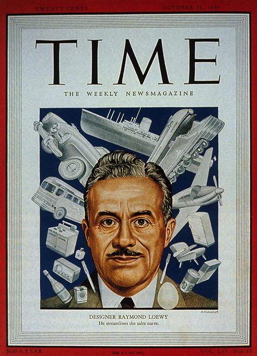 Raymond Loewy, ilustrador de moda y pionero del diseño industrial