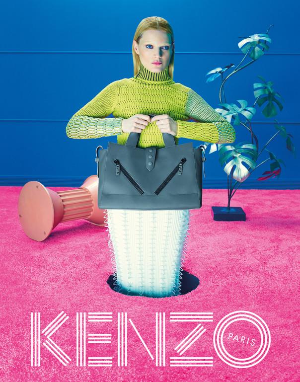 Kenzo F/W 2014.15: Surrealismo colorido y homenaje a David Lynch
