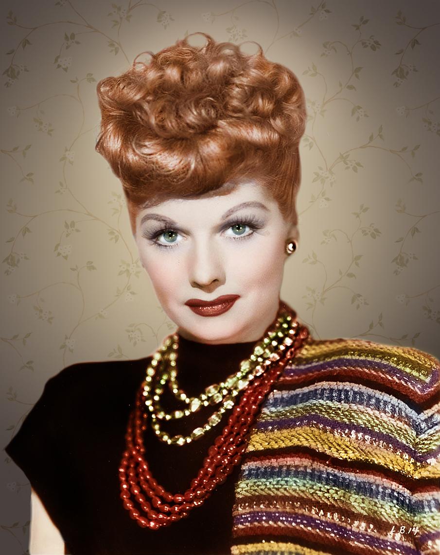 Lucille Ball, la primera colorina famosa