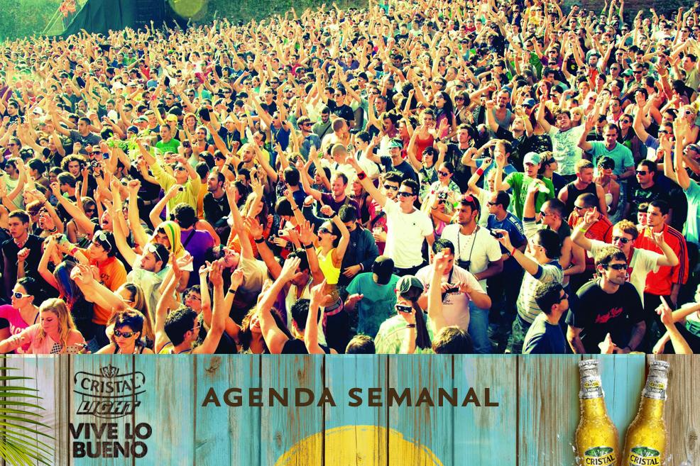 Agenda Cristal Light: Panoramas del 14 al 17 de agosto + ¡concurso!