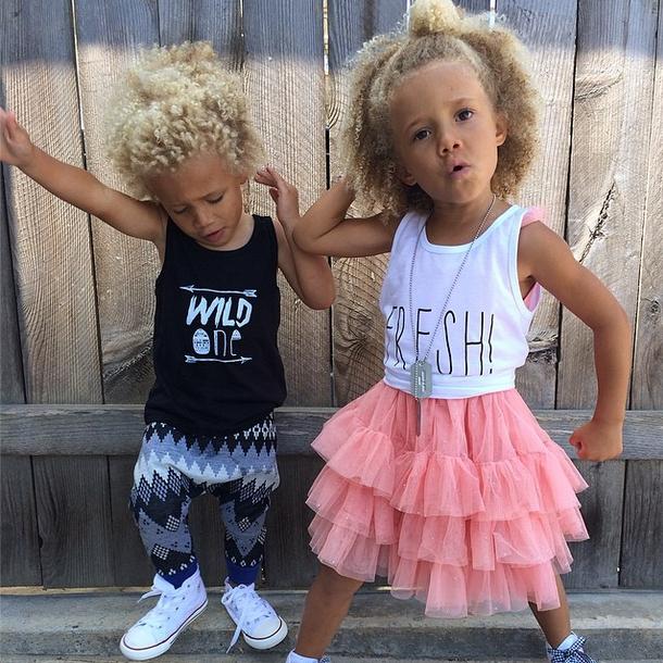 Stella & Blaise: los nuevos Mini Fashionistas favoritos de Instagram
