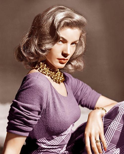 Un homenaje a Lauren Bacall, la mujer más seductora del cine