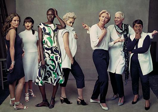"""""""Mujeres líderes"""": la campaña de Annie Leibovitz para M&S"""