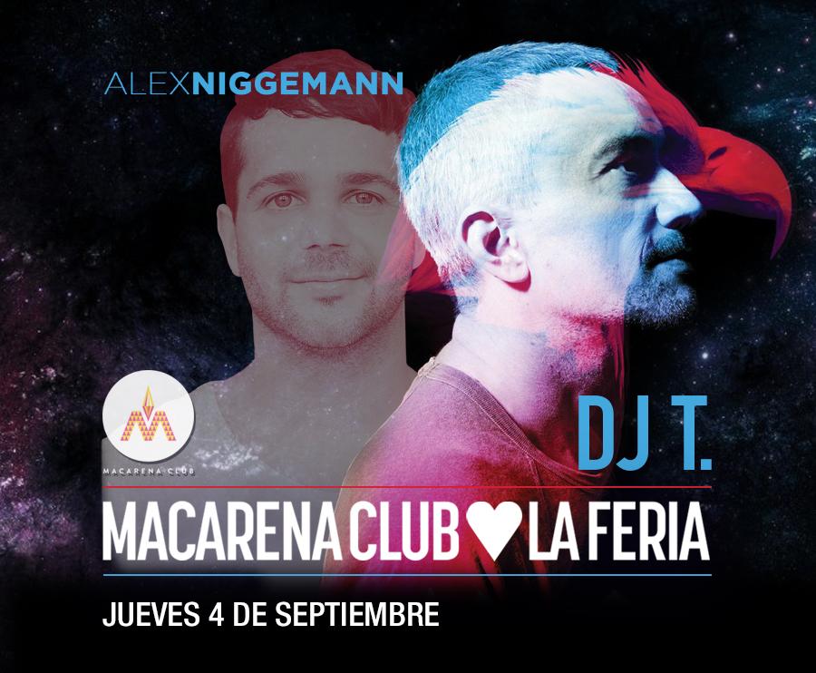 Concurso: ¡Gana entradas para la fiesta Macarena Club de este jueves!