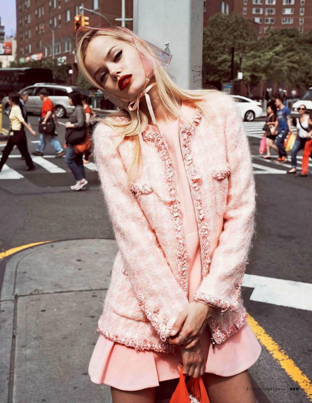 La Vie en Rose, el color de moda según Elle Italia