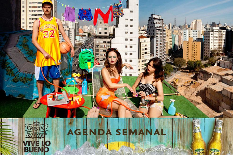 Agenda Cristal Light: Panoramas del 2 al 5 de octubre
