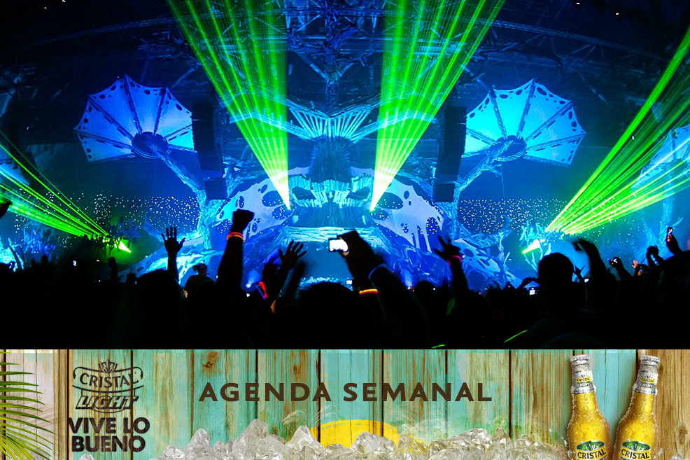 Agenda Cristal Light: Panoramas del 4 al 7 de septiembre + ¡concurso!