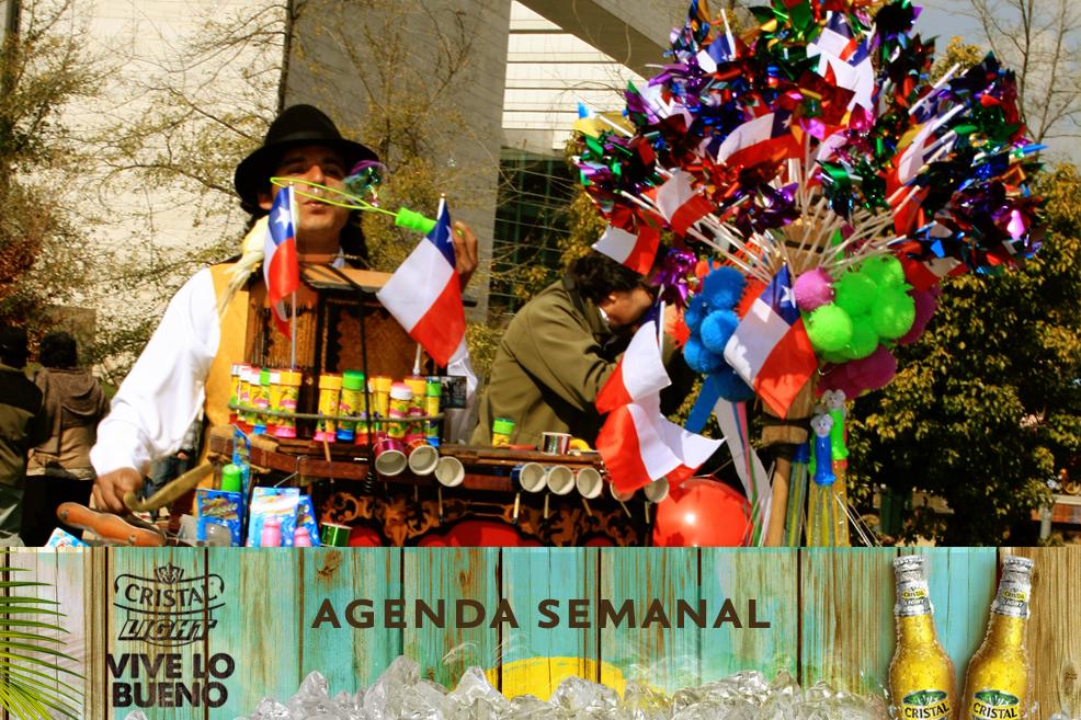 Agenda Cristal Light: Panoramas del 11 al 14 de septiembre + ¡concurso!